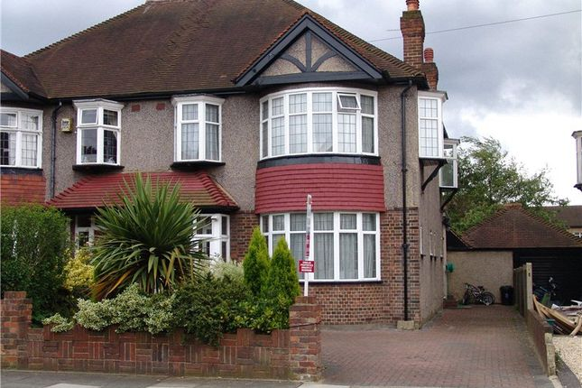 Thumbnail Semi-detached house to rent in Buxton Drive, New Malden, Surrey
