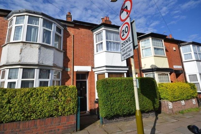Thumbnail Terraced house to rent in Landseer Road, Clarendon Park, Leicester