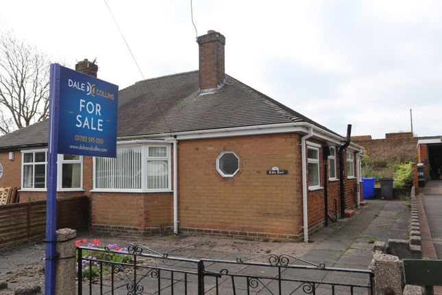 Thumbnail Bungalow for sale in Clanway Street, Tunstall