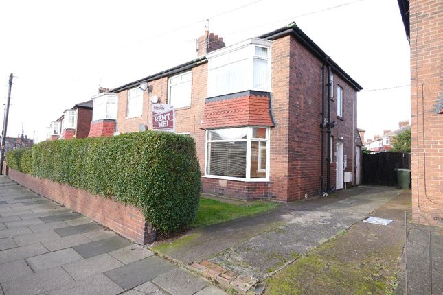 Thumbnail Flat to rent in High Street East, Wallsend