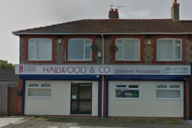 Thumbnail Flat to rent in Hoylake Road, Wirral
