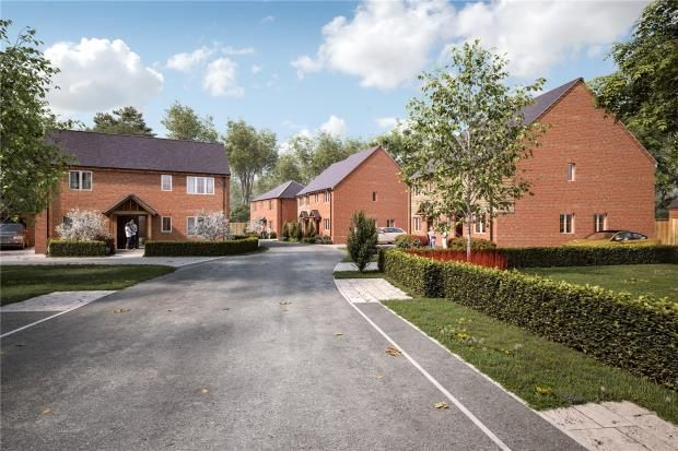 Thumbnail Detached house for sale in Castle Gresley, Swadlincote, Derbyshire