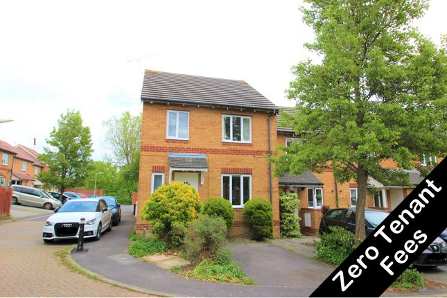Thumbnail End terrace house to rent in Angelica Way, Whiteley, Fareham