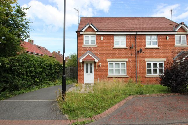 Thumbnail Semi-detached house for sale in Southside Gardens, Sunderland, Tyne And Wear