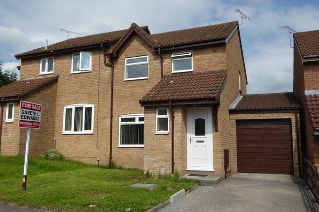 Thumbnail Property to rent in Tremains Court, Brackla, Bridgend, Bridgend.