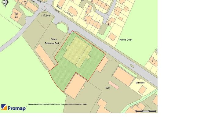 Site Plan of New Road, Ingleton North Yorkshire LA6