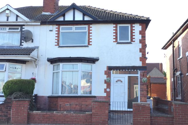 Thumbnail Semi-detached house to rent in 53 St. Hilda's Road, Doncaster, South Yorkshire
