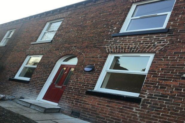 Thumbnail Terraced house to rent in Hob Hey Lane, Culcheth, Warrington