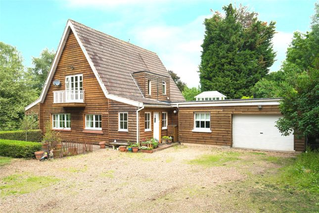 Thumbnail Detached house for sale in Hamlet Hill, Roydon, Harlow, Essex