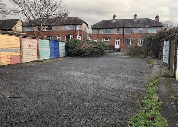 Thumbnail Land for sale in Garage Site, Belmont Street, Sowerby Bridge