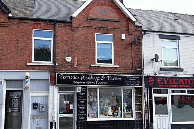 Thumbnail Flat to rent in Mansfield Road, Hasland, Chesterfield