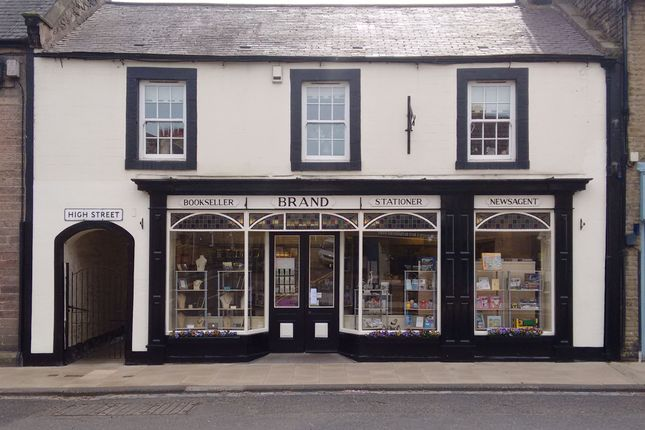 Thumbnail Retail premises for sale in High Street, Wooler