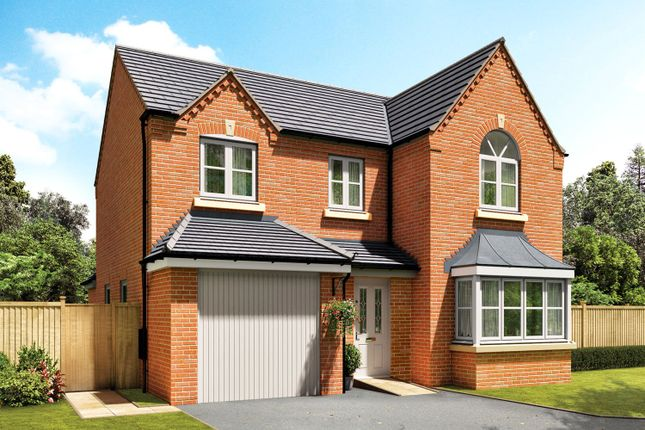 Thumbnail Detached house for sale in Wulfric Avenue, Austrey, Atherstone, Warwickshire