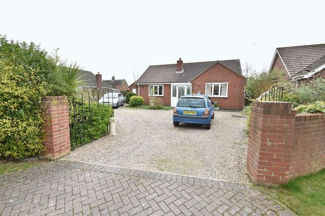 Thumbnail Detached bungalow for sale in Holmes Close, Saltfleet, Louth