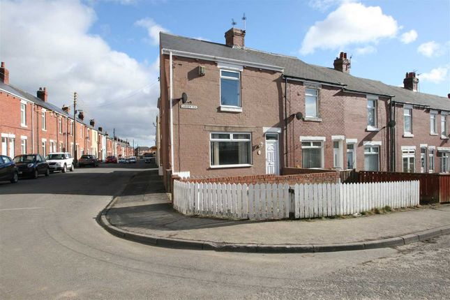 Thumbnail End terrace house to rent in Garden Terrace, Stanley, County Durham
