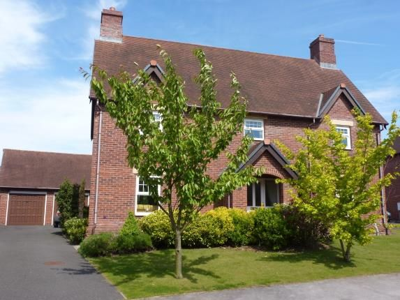 Thumbnail Detached house for sale in Ashbourne Drive, Wychwood Park, Crewe, Cheshire