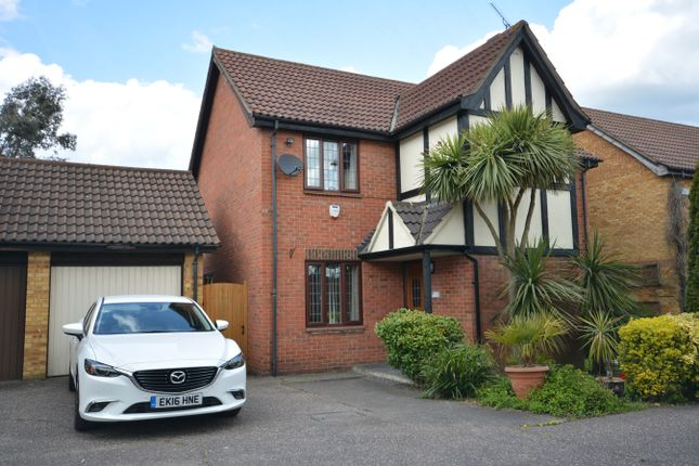 Thumbnail Detached house for sale in Tindall Close, Harold Wood