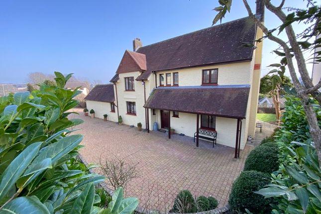 Thumbnail Detached house for sale in Parkfields Road, Bridgend