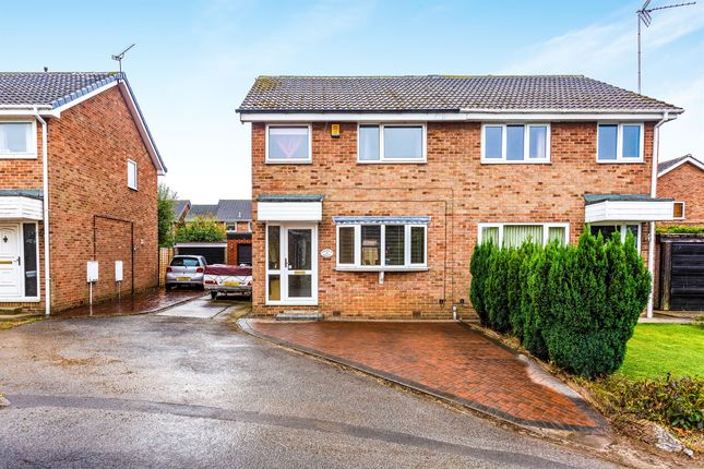 3 bed semi-detached house for sale in Hawkshead Crescent, North Anston, Sheffield