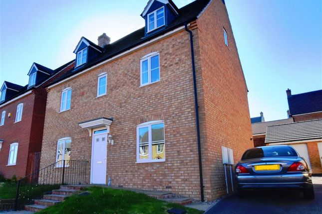 Thumbnail Detached house for sale in Scarsdale Way, Grantham