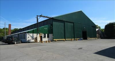 Thumbnail Warehouse to let in The Hangar, Old Hooton Airfield, West Road, Ellesmere Port, Cheshire
