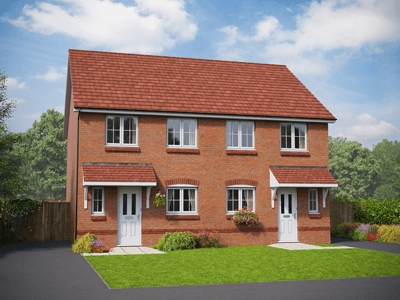 Thumbnail Detached house for sale in The Powys, Croes Atti, Chester Road, Oakenholt