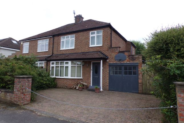 Thumbnail Semi-detached house for sale in Highfield Close, Eaglescliffe, Stockton-On-Tees
