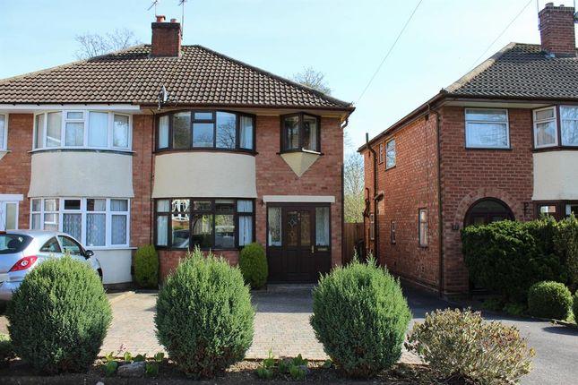 Thumbnail Semi-detached house for sale in Denise Drive, Harborne, Birmingham