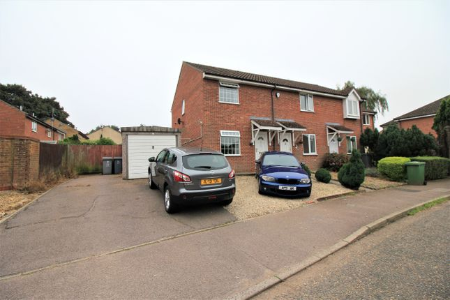 2 bed semi-detached house to rent in The Seates, Norwich NR8