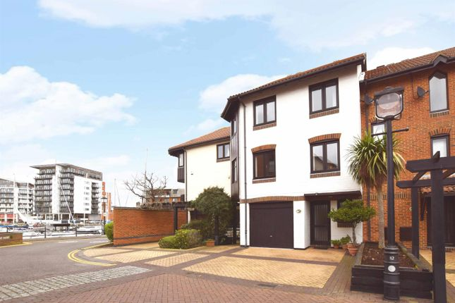 Thumbnail Terraced house for sale in Calshot Court, Channel Way, Ocean Village, Southampton