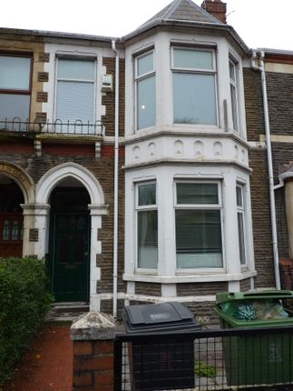 Thumbnail Terraced house to rent in Allensbank Road, Cardiff