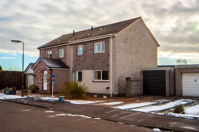 Thumbnail Semi-detached house for sale in Craigie Court, Larbert