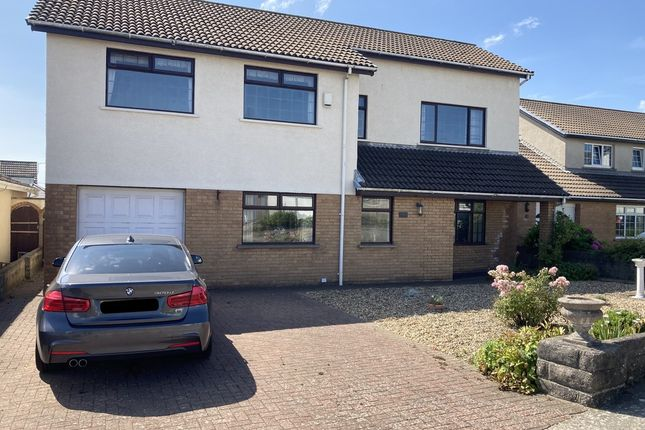 Thumbnail Detached house for sale in Ramsey Close, Rest Bay, Porthcawl
