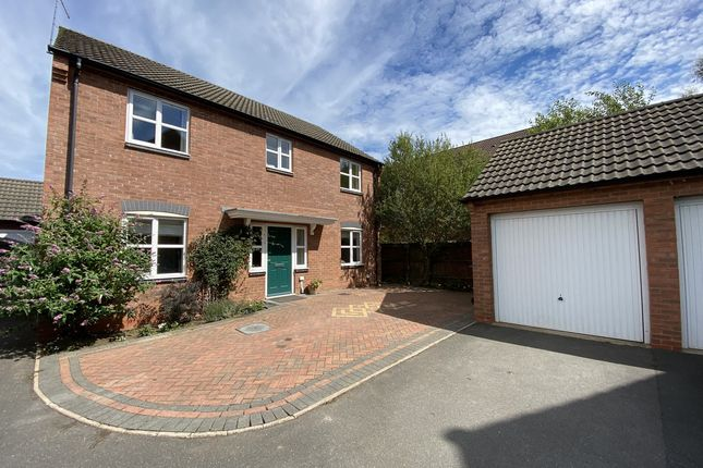 Thumbnail Detached house for sale in Vislok Close, Market Harborough, 9