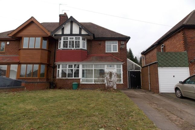 Thumbnail Semi-detached house for sale in Stechford Road, Hodge Hill, Birmingham