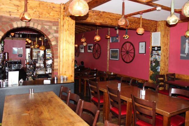 Thumbnail Restaurant/cafe to let in Kingsland High Street, London