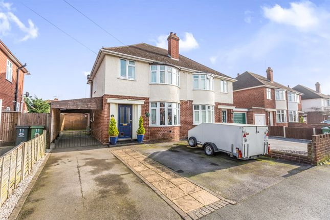 Thumbnail Semi-detached house for sale in Margaret Road, Worcester