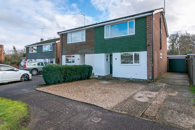 Thumbnail Semi-detached house for sale in The Paddock, Hitchin