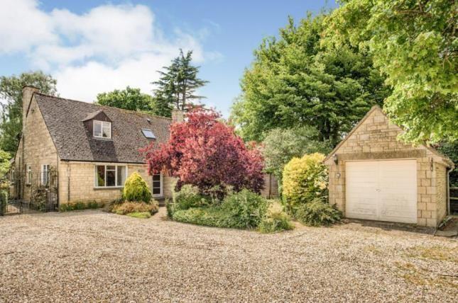 Thumbnail Bungalow for sale in Rissington Road, Bourton-On-The-Water, Cheltenham, Gloucestershire