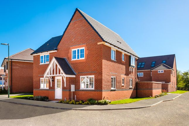 "Thumbnail Detached house for sale in ""Lincoln"" at Saxon Court, Bicton Heath, Shrewsbury"
