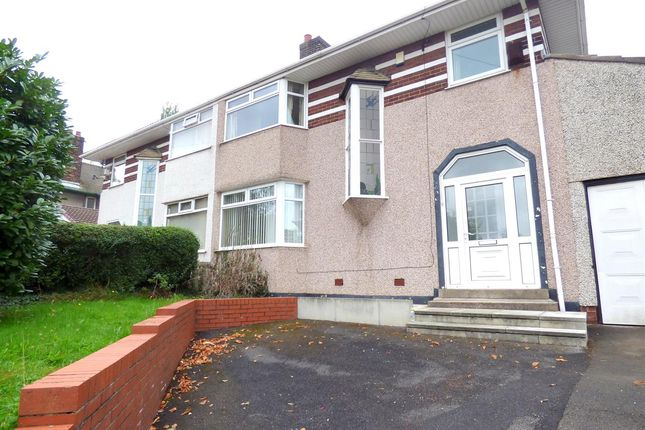 Thumbnail Semi-detached house for sale in Roby Road, Huyton, Liverpool