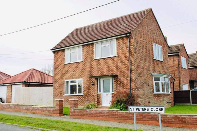 Thumbnail Detached house for sale in St. Peters Road, Stowmarket
