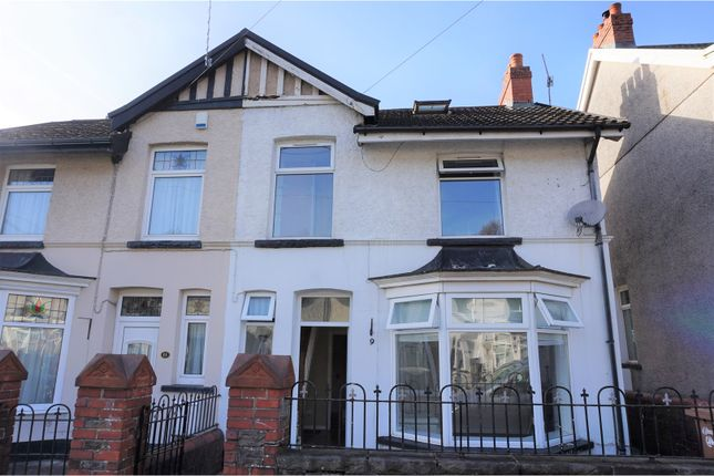 Thumbnail Terraced house for sale in Station Road, Hengoed
