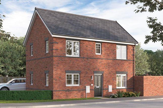 "Thumbnail Semi-detached house for sale in ""The Seabridge Detached"" at Alfreton Road, South Normanton, Alfreton"