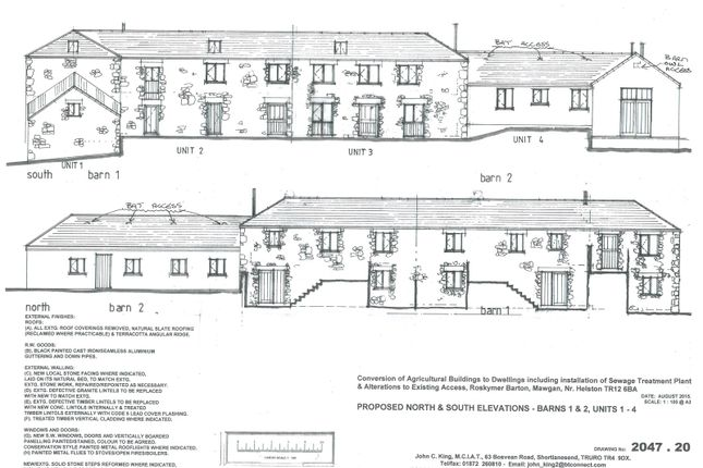 Thumbnail Barn conversion for sale in Rosevear Hill, Mawgan