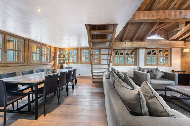 The Living Area of Courchevel, Rhone Alps, France
