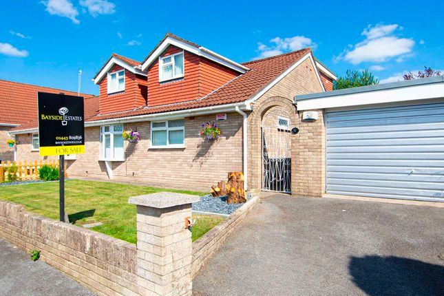 Thumbnail Semi-detached house for sale in Ty Llwyd Parc Estate, Quakers Yard, Treharris