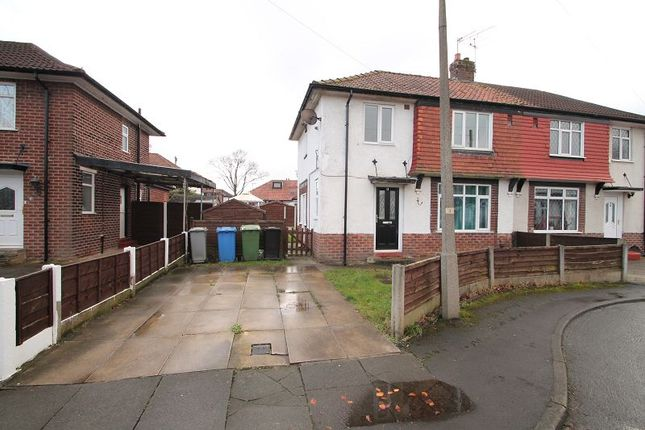 Thumbnail Semi-detached house to rent in Bude Avenue, Urmston, Manchester