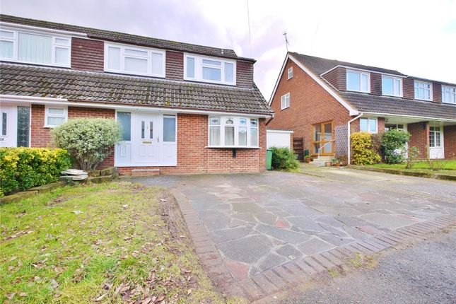 Thumbnail Semi-detached house for sale in Parsonage Field, Doddinghurst, Brentwood, Essex