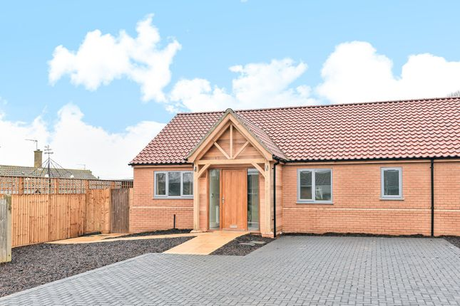 Thumbnail Semi-detached bungalow for sale in Crofts Close, Burnham Market, King's Lynn